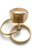Terugwinning van oude juwelen royalty-vrije stock foto's