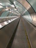 Tervolator in der U-Bahn - Straße zur Zukunft stockbilder