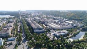 Terytorium fabryka od wzrosta zdjęcie wideo