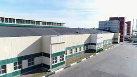 Terytorium fabryka od wzrosta zbiory wideo