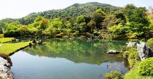 Tenryuji Japanese Garden stock image