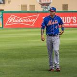 Terza base Wilmer Flores New York Mets Fotografie Stock Libere da Diritti