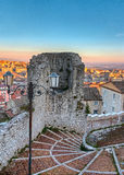 Terzano tower in Campobasso Royalty Free Stock Photos