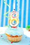 Terzo compleanno del ragazzo Fotografia Stock Libera da Diritti