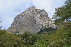 Terzo di più grande montagna del mondo immagini stock libere da diritti