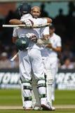 Terzo giorno 2012 della partita amichevole dell'Inghilterra v Sudafrica 4 Fotografia Stock