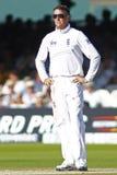 Terzo giorno 2012 della partita amichevole dell'Inghilterra v Sudafrica 4 Fotografie Stock Libere da Diritti