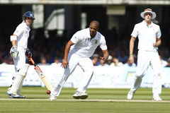Terzo giorno 2012 della partita amichevole dell'Inghilterra v Sudafrica 2 immagini stock