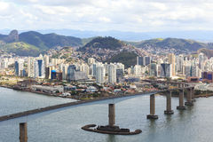 Terzo ponte (Terceira Ponte), Vitoria, Vila Velha, Espirito San immagine stock