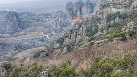 Tesalija de Meteora greece foto de stock royalty free