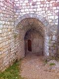 tesanj的堡垒 免版税图库摄影