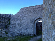tesanj的堡垒 免版税库存图片