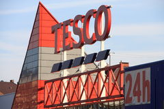 Tesco Royalty Free Stock Photography