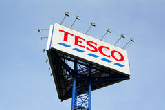 Tesco Photographie stock