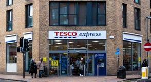 Tesco Birmingham exprès photographie stock libre de droits