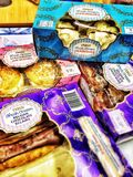Tesco desserts Stock Images