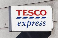 Tesco Express logo Royalty Free Stock Images