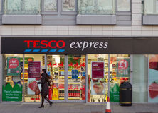 Tesco express Royalty Free Stock Image