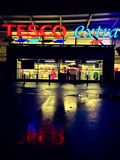 Tesco Extra Royalty Free Stock Photography