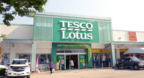Tesco Lotus in Bangkok Royalty Free Stock Photo