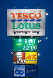 Tesco lotus Royalty Free Stock Images