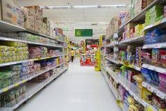 Tesco Lotus Supermarket Lizenzfreie Stockfotografie