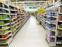 Tesco Lotus supermarket Stock Photography