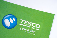 Tesco-Mobile-Symbol Lizenzfreies Stockbild