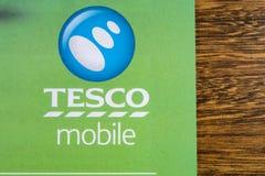 Tesco Mobile Symbol Royalty Free Stock Photo