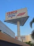 Tesco PLC är en brittisk multinationell livsmedelsbutik och en allmän varoråterförsäljare Fotografering för Bildbyråer