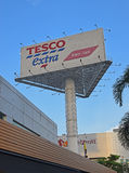 Tesco PLC is a British multinational grocery and general merchandise retailer. Headquartered in Cheshunt, Hertfordshire, England, United Kingdom. It is the stock image