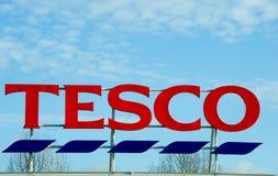 Tesco Przechuje w Machester, Oldham obraz stock