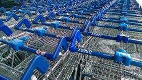 Free Tesco Shopping Carts Stock Images - 42764114