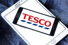 Tesco speichert Logo lizenzfreies stockfoto