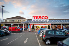 Tesco Store in Droylsden, Manchester, UK Stock Images