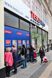 Tesco store Stock Photography