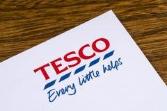 Tesco Supermarket Logo Royalty Free Stock Photo