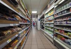 Tesco supermarket in London Stock Photos