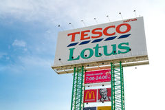 Tesco thailand sign Stock Images
