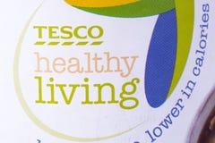 Tesco Zdrowy Żywy logo Zdjęcie Royalty Free
