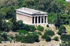 Teseyon (tempel van Hephaestus) in Athene Royalty-vrije Stock Afbeeldingen
