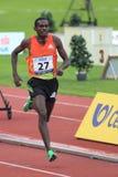Teshome Dirirsa - 1500 Meter laufen in Prag 2012 Lizenzfreies Stockfoto