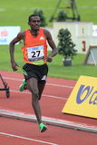Teshome Dirirsa - 1500 metres race in Prague 2012 Royalty Free Stock Photo