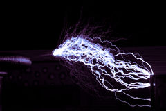 Tesla coil Royalty Free Stock Image