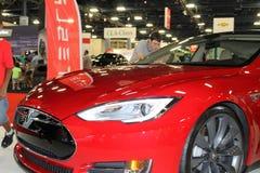 Tesla corner detail Royalty Free Stock Photography
