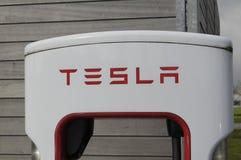 TESLA ELECTRIC VEHICLES Stock Photo