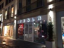 Tesla lager Arkivfoto