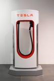 Tesla maszynowy sklep w Frankfurt zdjęcie stock