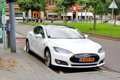 Tesla Model S royalty free stock photo