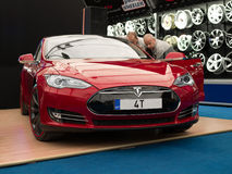 Tesla Model S Royalty Free Stock Photo